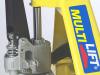 Patin hidraulico PSD 3000N sistema hidraulico