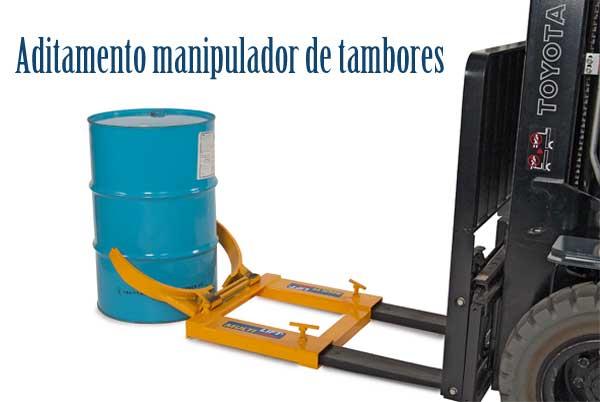 manipulador de tambores