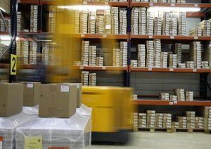 Importancia de la maquinaria en la logística industrial